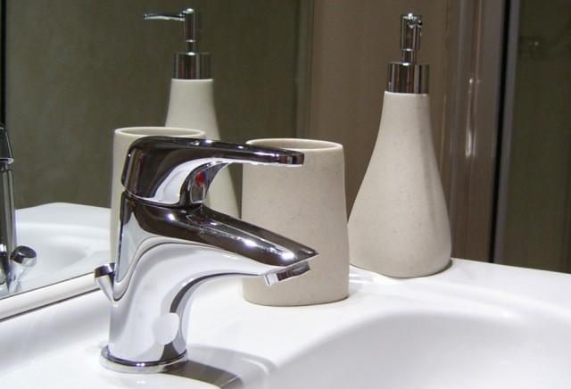 Bathroom at Melin Pandy
