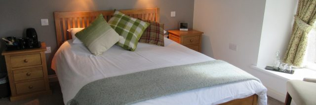 Double bedroom Melin Pandy bed and breakfast